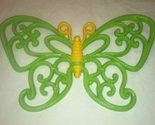 Vintage homco green and yellow butterfly thumb155 crop