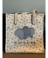 NWT Disney X Coach Dumbo Tote Bag Chalk Canvas shoulder bag - $399.99