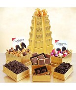 Golden Godiva: Premium Chocolate Gift Tower - €80,07 EUR