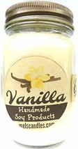 Vanilla 16oz Country Jar Soy Candle - Handmade in Rolla MO - $18.68