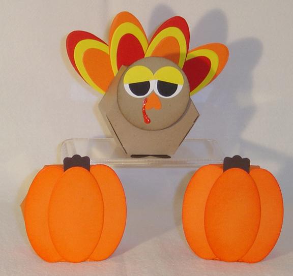 10 Pumpkin Fall Thanksgiving Party Favor