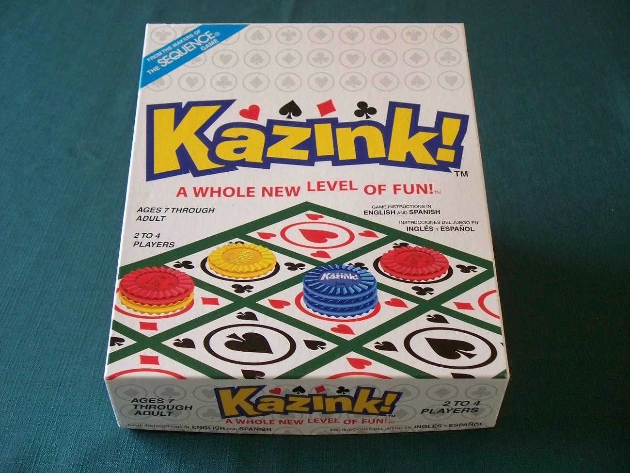 Kazink! by Jax Ltd, 2004. Complete VGC - $8.75