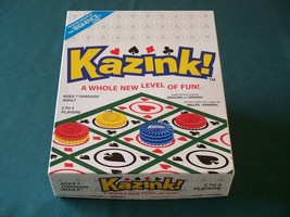Kazink! by Jax Ltd, 2004. Complete VGC - $8.75