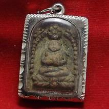 SANGKAJAI HAPPY BUDDHA REAL RARE ANTIQUE THAI AMULET PENDANT FOR INVESTOR TRADER image 2