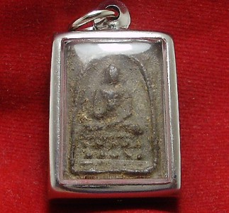 THAI BUDDHA AMULET PENDANT THAILAND VERY RARE REAL POWERFUL PHRA SOMDEJ LP PUEK image 2