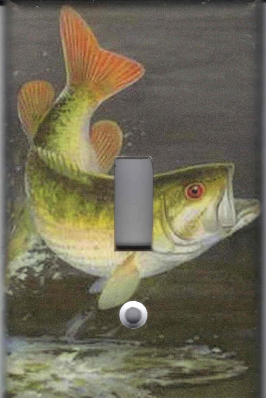 Bass fish single