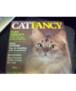 Cat Fancy Magazine Back Issue March 1990 - $6.00