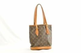 LOUIS VUITTON Monogram Bucket PM Shoulder Bag M42238 LV Auth th037 **Sticky - $180.00