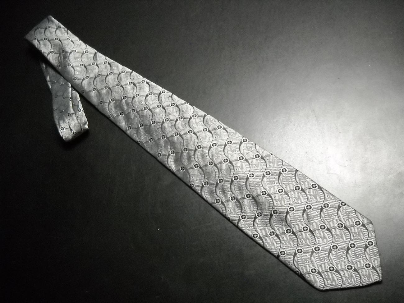 Tie givenchy monsieur greys   black 01