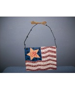wooden patriotic flag  sign - $5.99