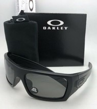 OAKLEY INDUSTRIAL DET-CORD Safety Glasses OO9253-06 Matte Black with Grey Z87.1