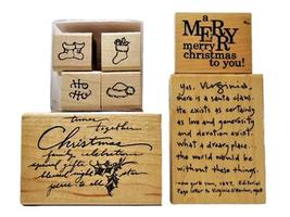 Christmas Holiday Rubber Stamp Bundles - $8.99+