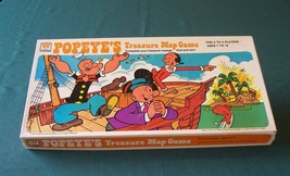 Popeye's Treasure Map Game by Whitman 1977 Complete - $14.00