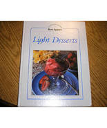 Light Desserts Cookbook Cooking With Bon Appetit Series - $5.00