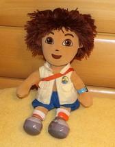 """TY Beanie Buddies Doll Dora Explorer Diego Animal Rescuer Plush 12"""" w/ B... - $5.29"""