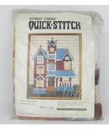 "Vintage Bernat Tabriz Quick Stitch Victorian Manor Needlepoint Kit 16""X2... - $10.00"