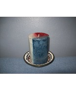 patriotic candle and candle holder - $9.99