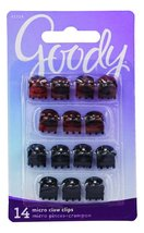Goody Claw Hair Clips, Micro, Assorted Colors, 14-count, (Pack of 3) (19... - €11,72 EUR
