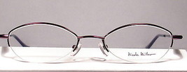 Nicole Miller Ribbon Eggplant Women Eyeglasses Frames Eyewear New Designer - $49.49