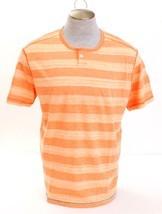 Tommy Bahama Daytona Peach Redondo Henley Short Sleeve Shirt Men's XL NWT - $50.48