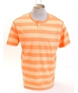 Tommy Bahama Daytona Peach Redondo Henley Short Sleeve Shirt Men's XL NWT - $50.48