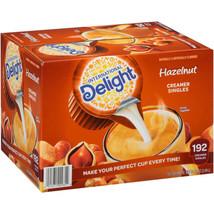 International Delight Hazelnut Coffee Creamer Singles (192 ct.) - $14.17