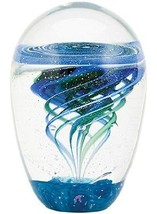 Waterspout Paperweight Glass Eye Studio Environmental Series NIB 617 Mad... - $125.95