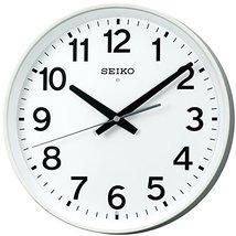 Seiko CLOCK clock wall clock sweep analog radio clock KX317W - $214.51