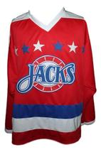 Carlson  17 baltimore skipjacks retro new men hockey jersey red   1 thumb200