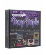 Deep Purple - Complete Album 1970-1976 [CD New] 10CD Music CD Box Set - $23.88