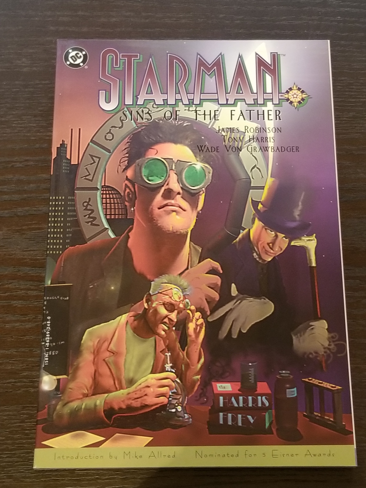 Starman: Sins of the Father Softcover Graphic Novel