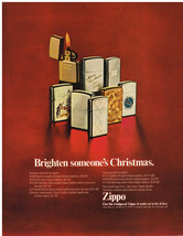 Vintage 1969 Magazine Ad Zippo Lighter Works Or We Fix Free / Polaroid C... - $5.93