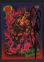 George Perez 1993 Marvel Universe Trading Art Card ~ Origin of Wolverine - $19.79