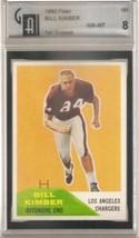 1960 Fleer #121 Bill Kimber GAI 8 NM MT - $69.25