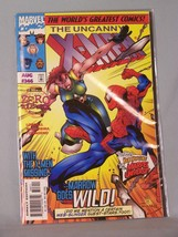 Marvel 346 The Uncanny X-Men - With the X-Men Missing - - Marrow Goes Wild! - $2.53