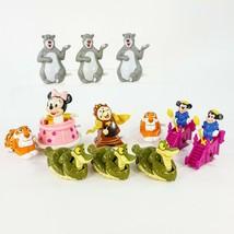 Vintage Plastic Wind Up Toy Lot 12pc Disney Baby Minnie Mickey Jungle Bo... - $15.44