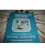 Emdeko Model LT-72 Sewing Machine Instruction Manual  - $15.00