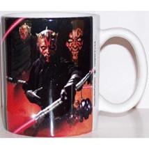 Star Wars The Phantom Menace Darth Maul Stoneware Photo Mug, NEW UNUSED - $8.77