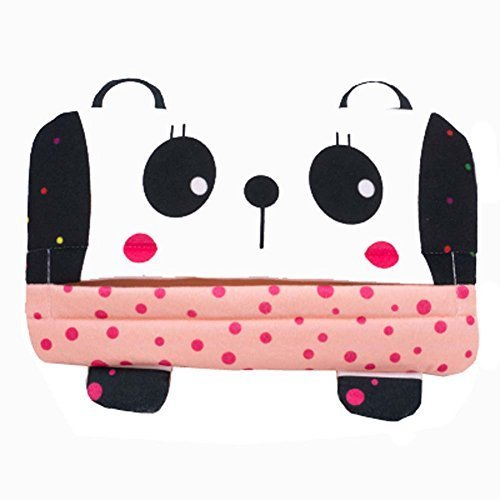Cute Car Accessories Automobile Visor Tissue Box Pumping Tray Hanging Cartoon