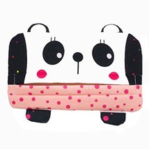 PANDA SUPERSTORE Cute Car Accessories Automobile Visor Tissue Box Pumping Tray H