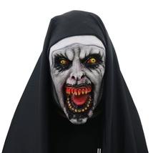 The Conjuring Mask Helmet Halloween Cosplay Season Natural Platex Nun Si... - $64.35 CAD