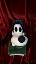 "11"" Disney Goofy Plush Hand Puppet w Scottish Hat Mickey Mouse & Friends... - $23.74"