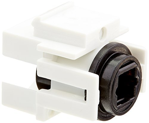 Primary image for Monoprice 108729 Keystone Jack TOSLINK Female to Female Coupler Adapter, White,