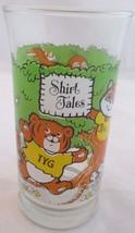 Hallmark Shirt Tales Glass 1982 Cartoon Animals Vintage Restaurant Giveaway - $6.92