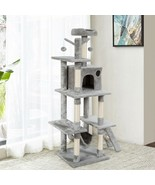 "61""  Cat Tree Condo Kitten Multi-Level Activity Center - $118.99"
