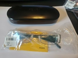 NEW Fendi Women's Eyeglasses F923R 714 Gold 52 16 135 Metal Full Rim FENDI CASE - $38.61