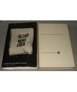 1961 First Edition of Blood Runs Cold by Robert Bloch An Inner Sanctum M... - $35.64