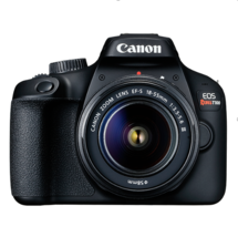 Canon EOS Rebel T100 Digital SLR Camera with 18-55mm Lens Kit | 18 Megapixel Sen - $987.49