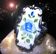 HAUNTED RING BRING YOUR GREATEST LIFE, LIVE, POWERS TO BLOOM SECRET OOAK MAGICK  - $9,207.77