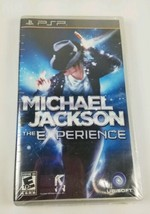 Michael Jackson Experience for PSP Portable Brand New Factory Sealed  - $5.20